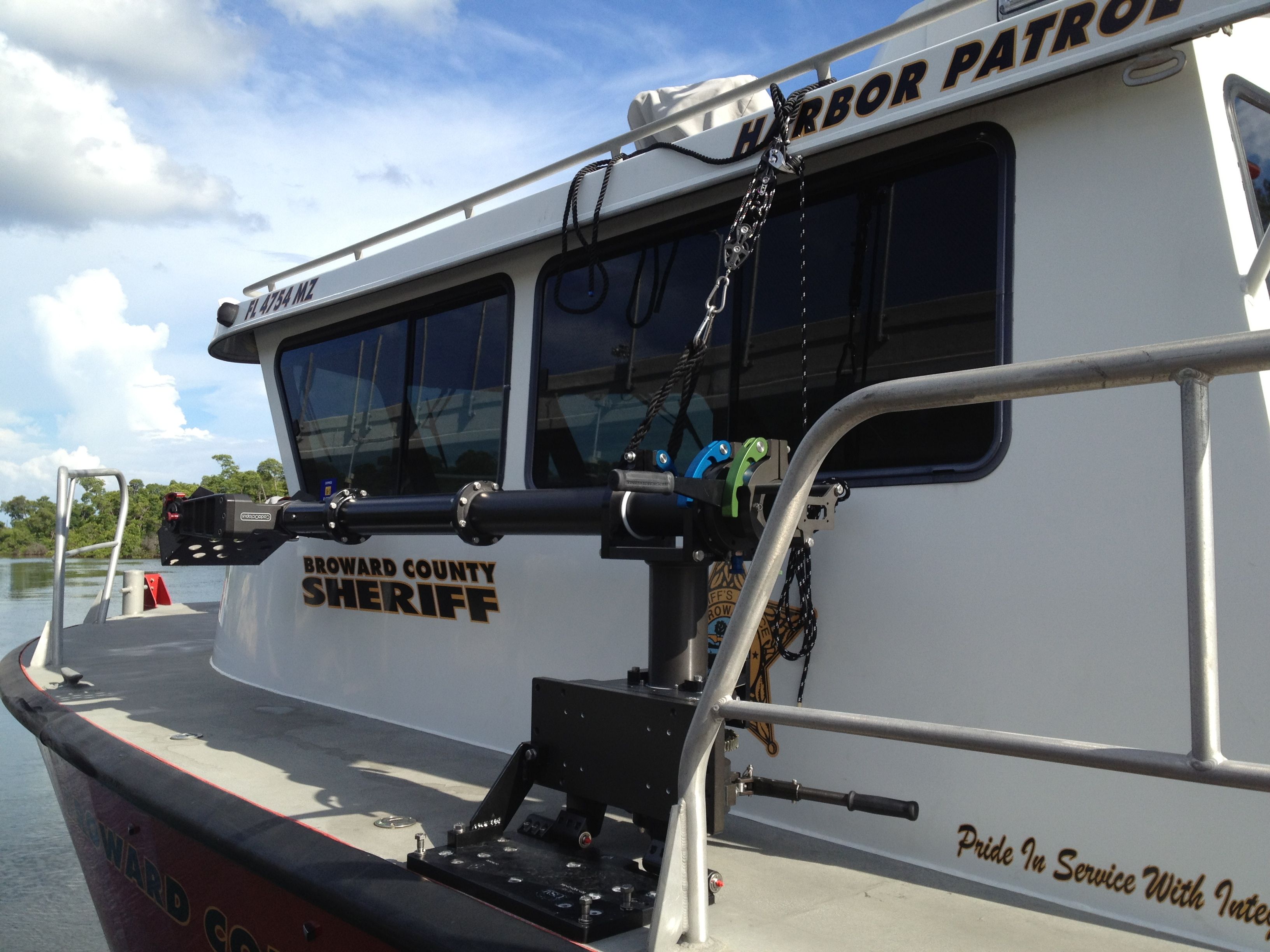 Port of Everglades Sheriff Install 1