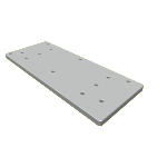 Standard Subplate 500-1022-01 Weld-Down