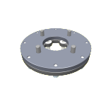 USM to Reson T20-P two piece flange kit M12